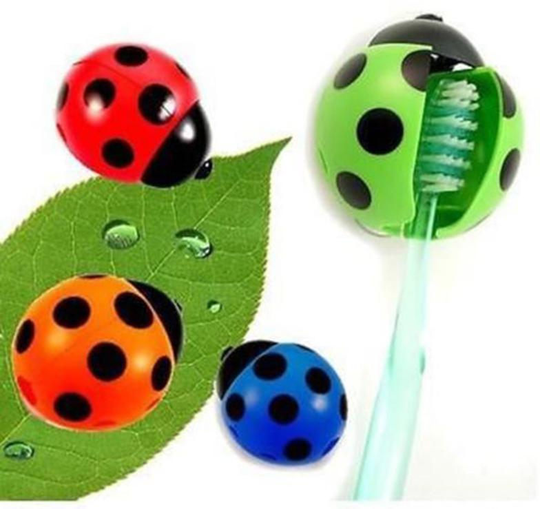 Hermosa Ladybug cepillo de dientes titular mandril Muebles Para El ...