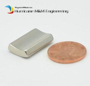 Image 4 - NdFeB Magnet Arc OR18xIR14x45degxT20 mm N42H Motor Magnet for Generators Wind Turbine Neodymium Permanent Rotor Segment 8 240pcs