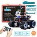 Keywish Tank Robot voor Arduino Starter Kit Slimme Auto Met Les APP RC Robotica Learning Kit Educatief STEM Speelgoed Voor kinderen
