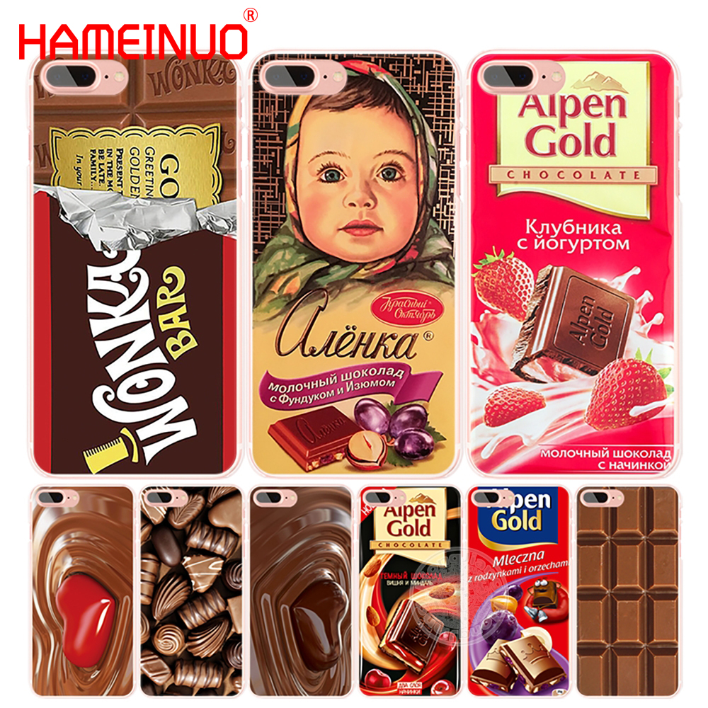 HAMEINUO alenka bar wonka chocolate cell phone Cover case for iphone 4 4s 5 5s SE 5c 6 6s 7 8 X plus Сотовый телефон