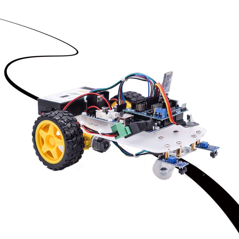 Image 3 - OSOYOO 2WD Robot Car Starter Kit for UNO R3 Arduino Project Smart Educational Toy Car Robotic Kit-in Demo Board from Computer & Office