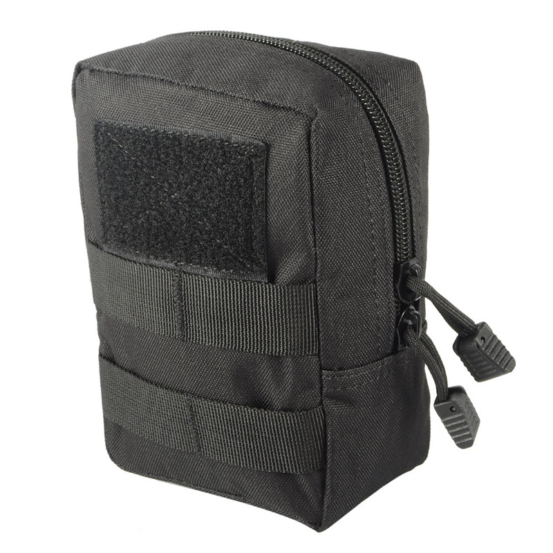 Tactical 1000D MOLLE Utility EDC Magazine Bag Waist Bag Dump Drop Pouch Men Outdoor Sports Medical First Aid Pouch@ cqc tactical molle system medical pouch utility edc tool molle pouch waist pack phone pouch hunting 1000d molle bag