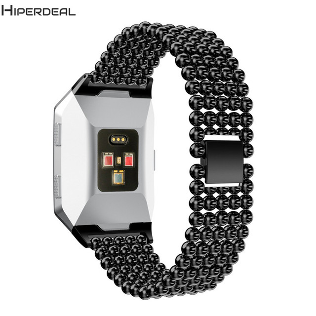 b856a6603e7de HIPERDEAL Strap For Fitbit Ionic Watch Smart Watch Replacement Luxury Alloy  Crystal Magnet Lock Accessory 140