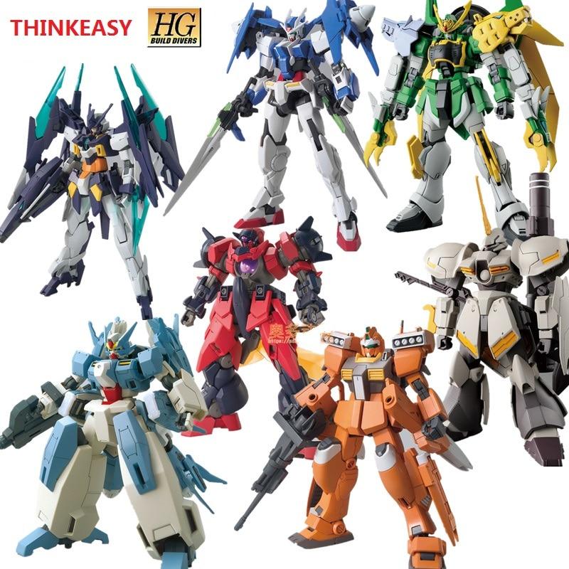 Gundam Model HG 1/144 Banshee DUILD 00 DIVERS MAGNUM UNICORN Jegan GM DOVEN WOLF Delta Armor Unchained Mobile Suit Kids ToysGundam Model HG 1/144 Banshee DUILD 00 DIVERS MAGNUM UNICORN Jegan GM DOVEN WOLF Delta Armor Unchained Mobile Suit Kids Toys