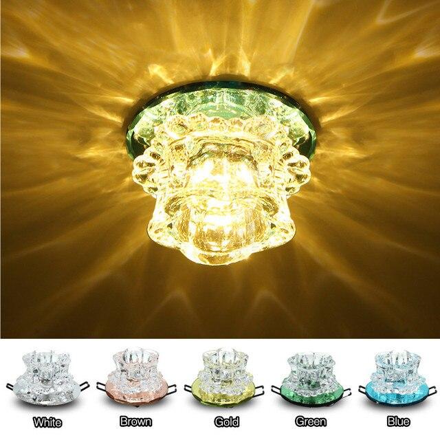 Warm Wit Verlichting Kristal Oppervlak Inbouw LED Plafondlamp ...