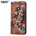 Flor moda carteira caso de couro da aleta para samsung galaxy s6 edge s7 edge S4 S5 Note7 note5 J2 J5 J7 A3 A5 A7 A9 G360 G530 ON5