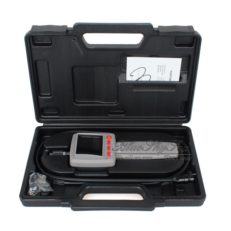 Chinscope 99D 2.4 Inspection Endoscope Diameter 3.9MM Camera 1M Tube Length Snake Industrial Endoscope with Carrying Box Case bullet camera tube camera headset holder with varied size in diameter
