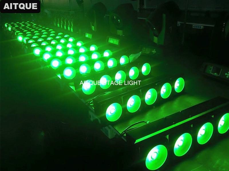 2 pcs/lot Led lumière matrice pixel 5 pcs public blinder matrice lumière 5x30 w blanc led dot matrix affichage