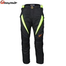Free shipping 1pcs Practical Cycling Quick-dry Motorbike Motorcycle Oxford Trouser Soft Waterproof Cotton liner Motorcycle Pants