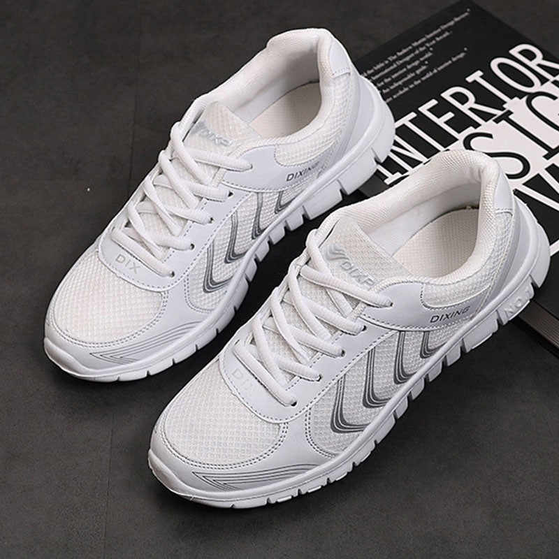 Women Sneakers Breathable Mesh Vulcanize Shoes Woman Light White Sneakers 2018 Summer Autumn Tenis Feminino Women Casual Shoes women shoes super light women sneakers air mesh tenis feminino women couple shoes vulcanize breathable trainers white sneakers