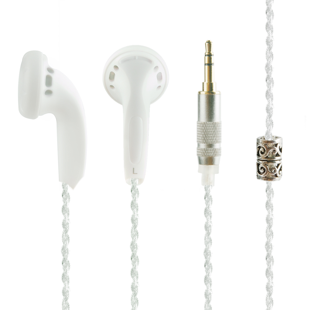 New K's Earphone K300 Pro 300ohm High Impedance In Ear Earphone Earbud 300ohms Earbud Flat Head Plug Earplugs Headset 2016 newest auglamour rx 1 in ear earphone flat head plug high quality full metal earbud headset for iphones android mp3 mp4