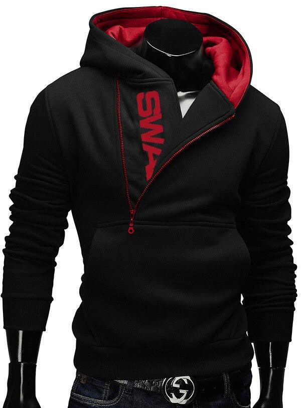 US $12.62 5% OFF Plus Size 6XL Fashion Brand Hoodies Men Sweatshirt Tracksuit Male Zipper Hooded Jacket Casual Sportswear in Hoodies & Sweatshirts