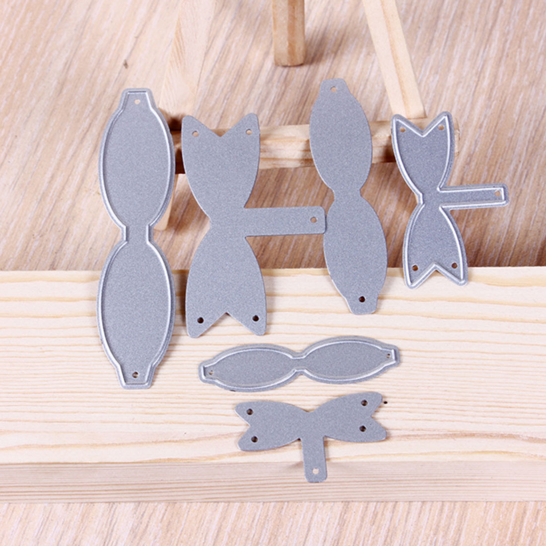 New Arrival Ribbon Bows Metal Cutting Dies Stencils For DIY Scrapbooking/photo Album Decorative Embossing DIY Paper Cards