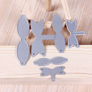 New Arrival Ribbon Bows Metal Cutting Dies Stencils for DIY Scrapbooking/photo album Decorative Embossing DIY Paper Cards(China)