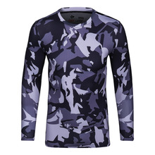 Cody Lundin Brand T Shirt Men Fitness Camo Dry Quick Compression Shirt Bodybuilding Basketball Gym T-Shirt Men Sport Tops Homme