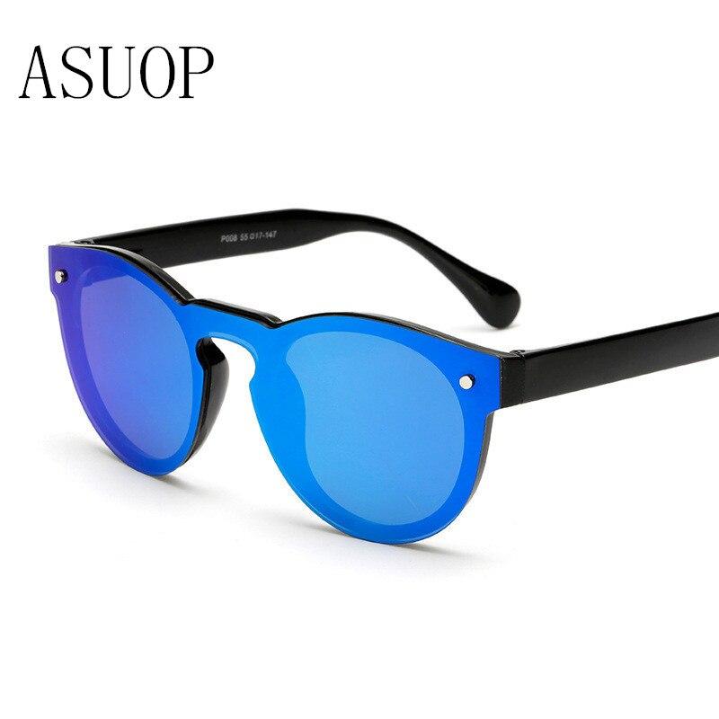 ASUOP 2019 nové módní dámské sluneční brýle klasické retro značky design pánské brýle UV400 oválné křišťálové hnací brýle