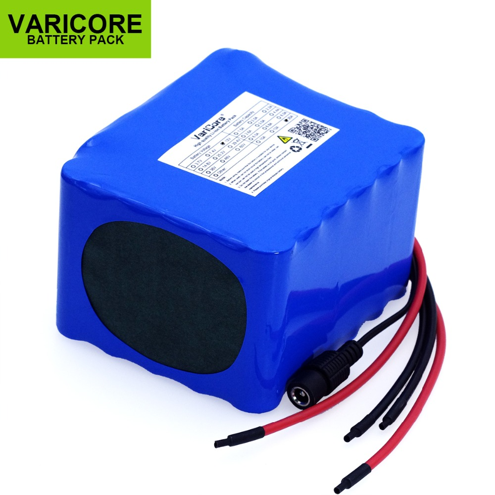 VariCore 12V 20Ah high power 100A discharge battery pack BMS protection 4 line output 500W 800W 18650 batteryVariCore 12V 20Ah high power 100A discharge battery pack BMS protection 4 line output 500W 800W 18650 battery