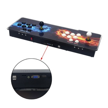 800 Games Home Multiplayer Arcade Game Console Kit Set Double Joystick Children Game Console For Home Party TV Bar