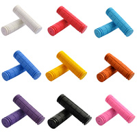10pcs Bicycle Grips Rubber MTB Mountain Bike Handlebar Grips Downhill Cycle Cycling Handle Lock Grip Parts Accessoriess