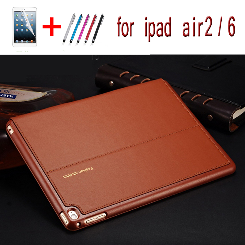 2016 new High Quality Rotating Stand Leather Cover For apple iPad Air 2 case With Sleep Function holster shell for ipad 6 case high quality new driver side airbag cover for glk w204 glk300 glk350 airbag cover dab cover with logo