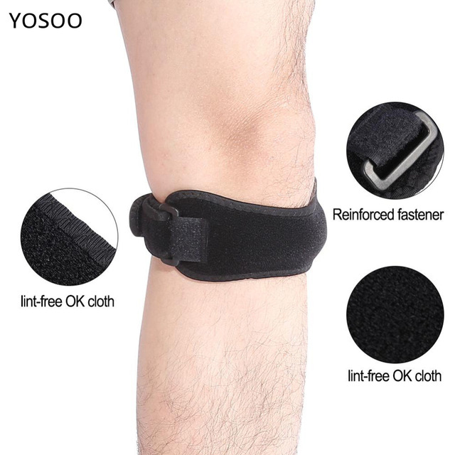b9691ac5ad Knee Brace Support Professional Hiking Riding Knee Patella Protector Belt Knee  Support Strap Band Sport Brace For Men Women