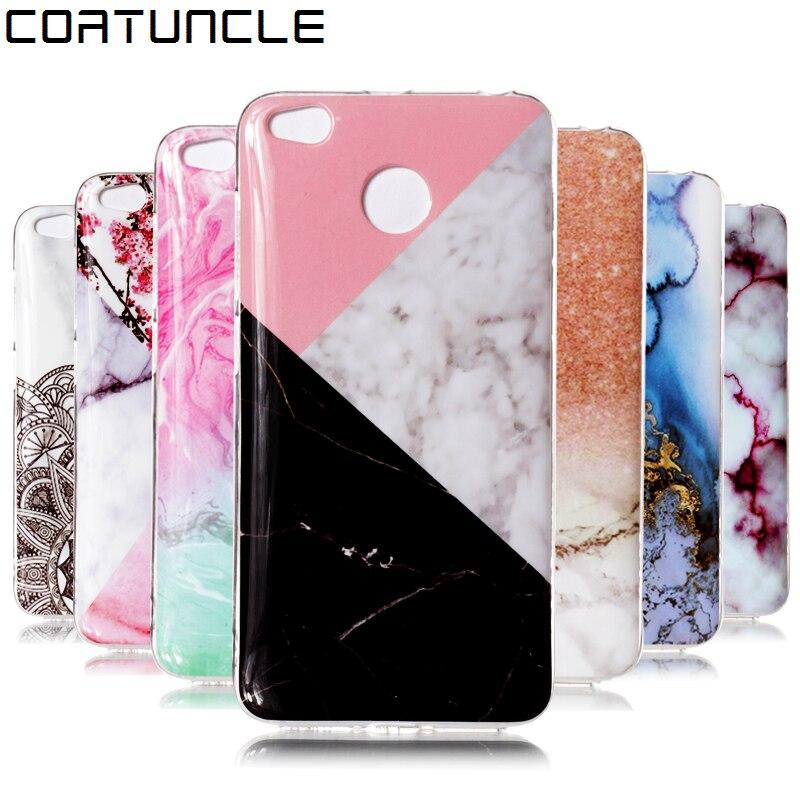 luxury Marble Stone Case sFor xiaomi redmi 4x Case soft Silicone TPU Rubber Back Cover Phone Case For xiaomi redmi 4x