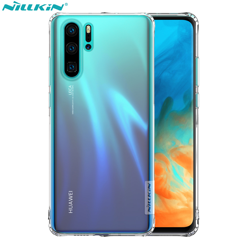 Huawei P30 Pro Fall Huawei P30 Abdeckung Nillkin Tpu Klar Transparent Weiche Silikon Rückseite Fall Mit Einzelhandel Paket