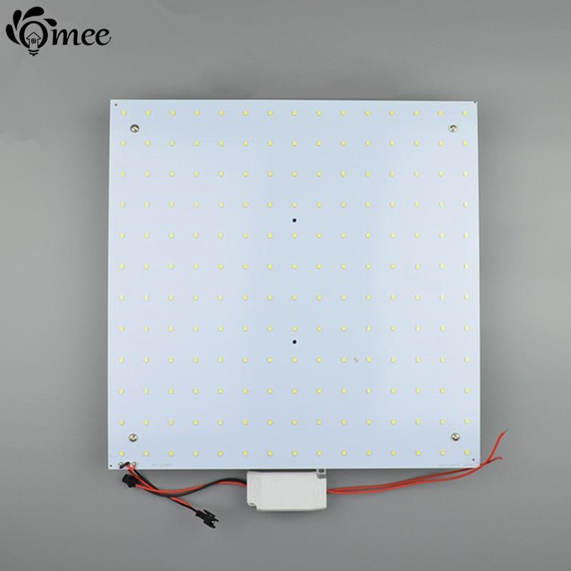 designer fashion ec78d e2b42 US $34.79 29% OFF|Square 36W Supper Bright led Ceiling Light Plate SMD2835  Aluminum Magnetic Modern LED Ceiling Panel Chip board AC110 240V-in Ceiling  ...