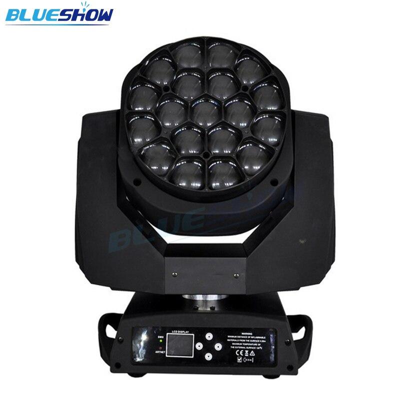 Нет налога на заказ по железной дороге/морю, Zoom Bee Eye 19x15 w светодиодный световой луч сценический светильник b eye
