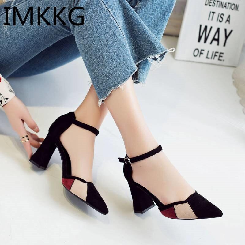 HTB1l qTl5AnBKNjSZFvq6yTKXXaN Summer Women Sandals platform heel Leather hook loop metal Soft comfortable Wedge shoes ladies casual sandals V284