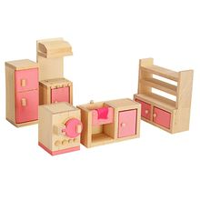 Good Quality New 1:12 Miniature Doll House Wooden Furniture Child Play Toys Gift for Dollhouse Life Scene Decor-random delivery