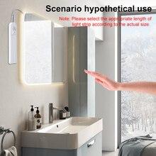 Led PIR Wall Lamp 5V Waterproof Bathroom Light Bar Motion Sensor Strip 1M 2M 3M Mirror Tape Flexible Fita for Bedroom