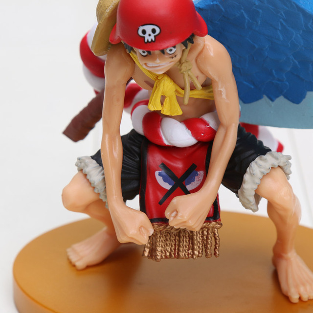 One Piece 13CM SCultures BIG Special Film GOLD Luffy PVC Anime Action Figure Toy