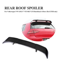 Для гольфа 7 MK7 Revozport Стиль углеродного волокна авто спойлер на крыше автомобиля крыло для Volkswagen VW Golf VII Golf7 GTI с R только 14 17