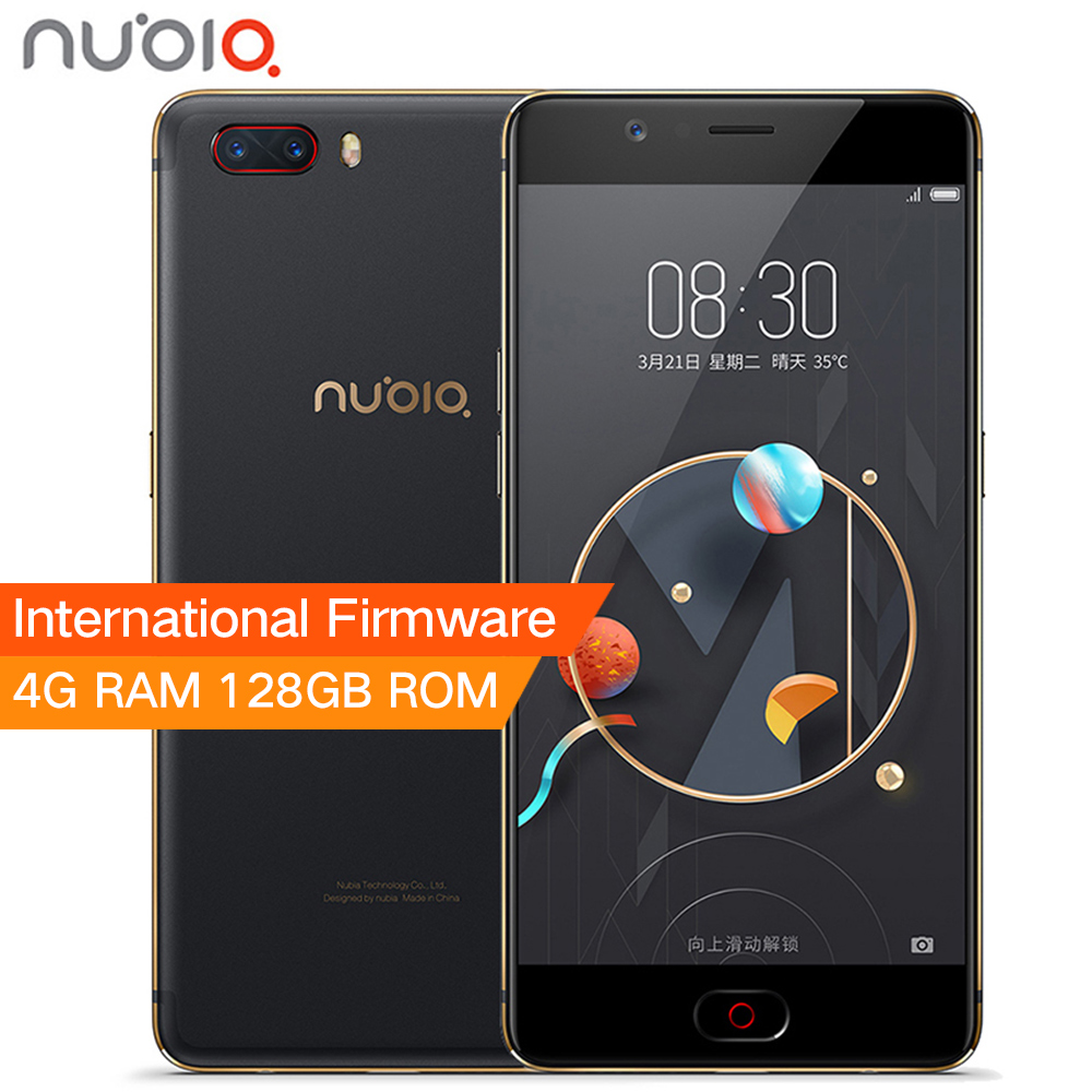 Ursprüngliche ZTE Nubia M2 4 GB RAM 128 GB ROM 5,5 zoll 1080 P 13.0MP + 13.0MP Dual Rückfahrkamera Snapdragon 625 Octa-core-handy telefon