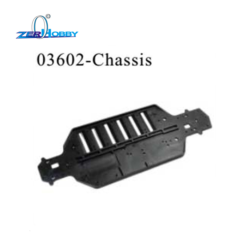 03602 rc o chassis do carro para o carro de corrida de 1/10 no carro da estrada e deriva hsp carro 94103, 94123