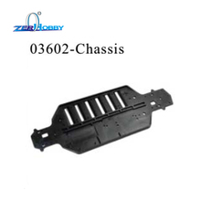 03602 RC CAR CHASSIS FOR HSP RACING OF 1/10 ON ROAD CAR AND DRIFT CAR 94103, 94123 цена