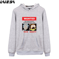 LIESA BTS Sweatshirts Men Stranger Things Hoodie Rick And Morty Sweatshirt Women Men S Streetwear Hip
