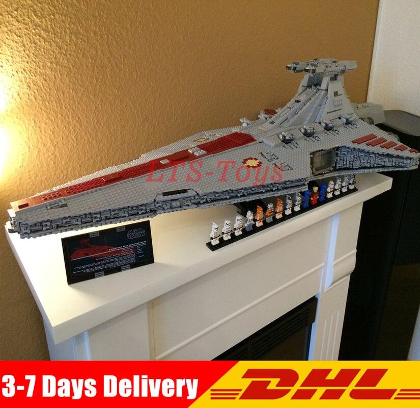 En Stock Lepin 05077 Star Wars 6125 pièces l'ucs ST04 Set république Cruiser blocs de construction briques jouets avec soin cadeau