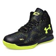 Карри баскетбола хомбре аутентичные zapatillas удобные ботинки прогулки дышащий ретро обувь