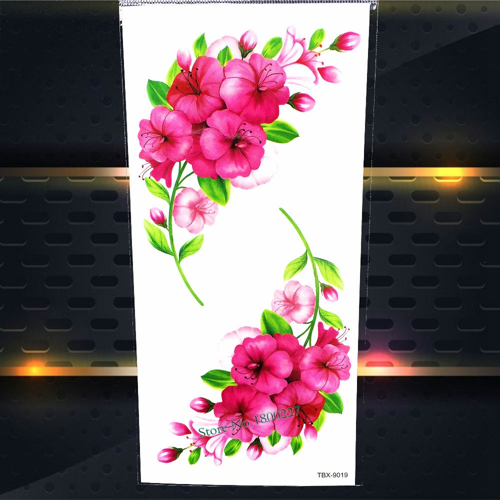 1PC Fruits Designs Sexy Women Body Art Painting Tattoo Stickers P3D-01 Fake Flash Waterproof Temporary Selfie Tattoo Paste Paper