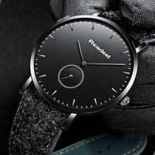 Readeel Mens Watches Top Brand Luxury Men Watch Leather Luxury Waterproof Sport Watch Men Male Clock Man Wristwatches Montre стоимость