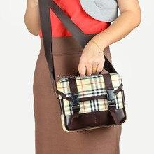 check pattern Ladies leisure Digital DSLR SLR Camera Bag for Canon Nikon Sony Pentax Free Shipping