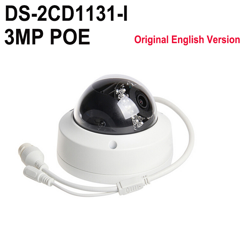 English version DS-2CD1131-I replace DS-2CD2132F-IS DS-2CD2132F-IWS 3MP network mini dome cctv camera POE IP camera H.264+