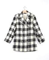 New Star River Of Fund Of Autumn Winters Is Thin Film In Black And White Plaid