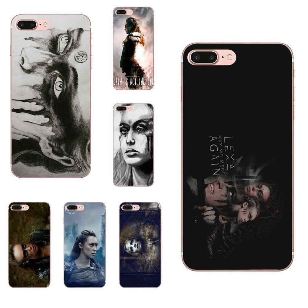 Heda Lexa The 100 Luxury Cell Phone Case For Xiaomi Note 3 4 Mi3 Mi4 Mi4C Mi4i Mi5 Mi 5S 5X 6 6X A1 Max Mix 2