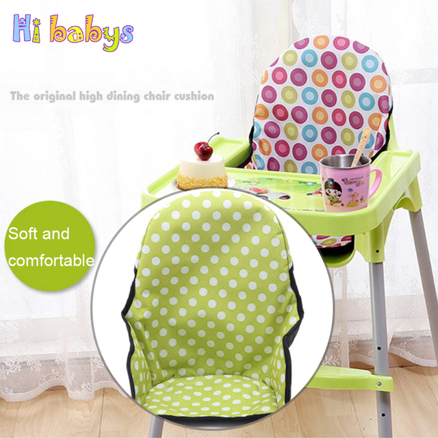 US $6 9 20% OFF|Baby Highchair Seat Cushion Sponge Feeding Chair Pad Mat  Stroller Seat Cushion Dinner Lunch Booster Mats Pram CarriageCotton Mat-in