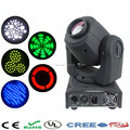 DJ Disco lighting DMX512 stage light led mini party gobo projector 10W led Moving Head Light Spot holiday party christmas lights