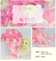 2015 The new large  beautiful wedding bouquet.Many colors for you choose In stock and can shipping now