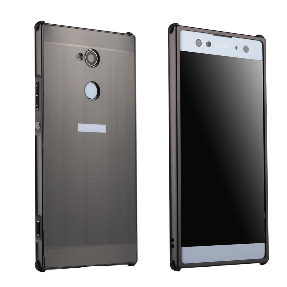 YeeSite for Sony Xperia XA2 Ultra Case Luxury Aluminum Frame + Hard PC Back Cover for Sony XA2 Mobile Phone Cases Accessories